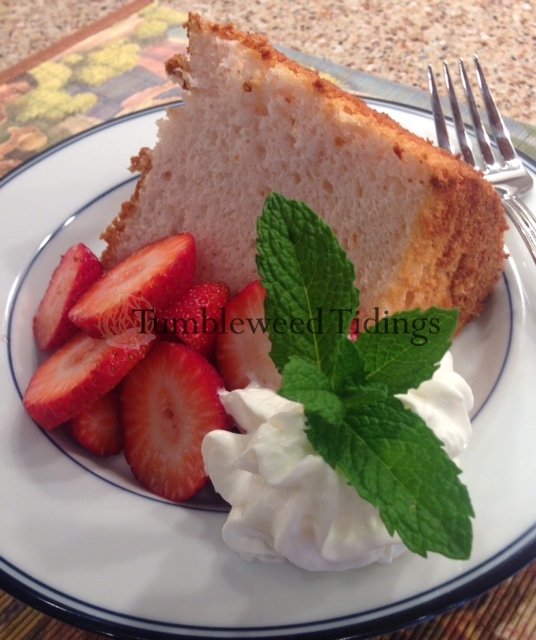 Aloha Angel Food Cake