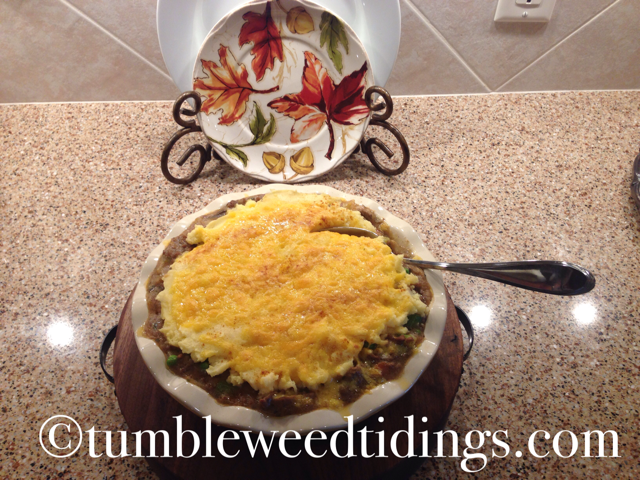 What's Cooking Wednesday ~ Shepherd's Pie