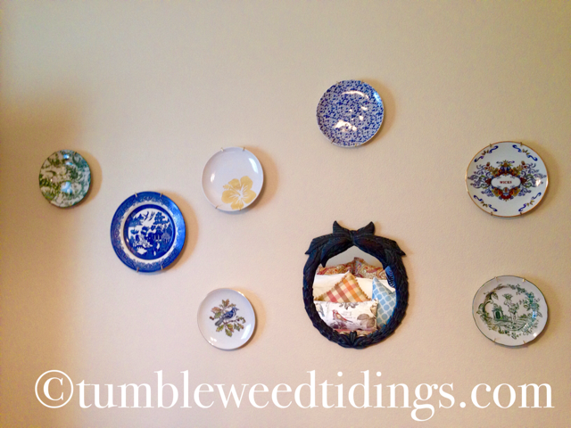 The Plate Wall…
