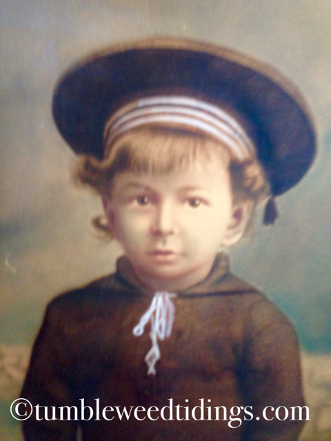 The Little Sailor Boy…