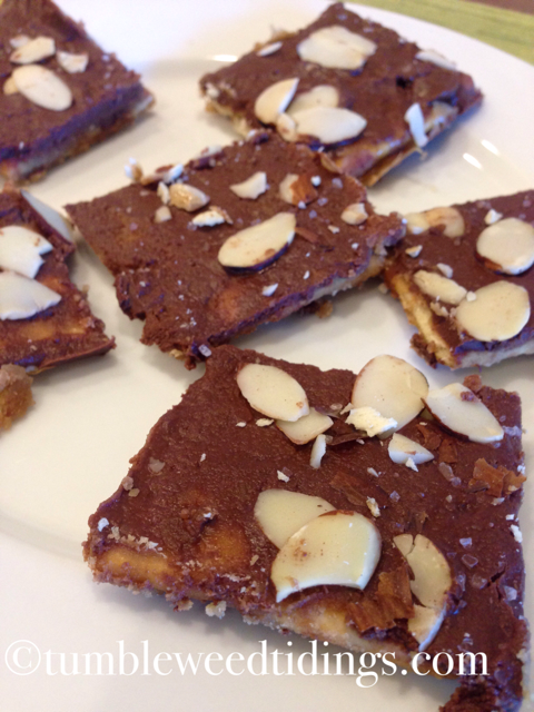 Soda Cracker Bars…