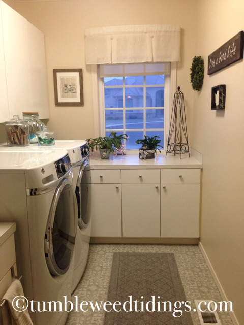 The Laundry Room Update…