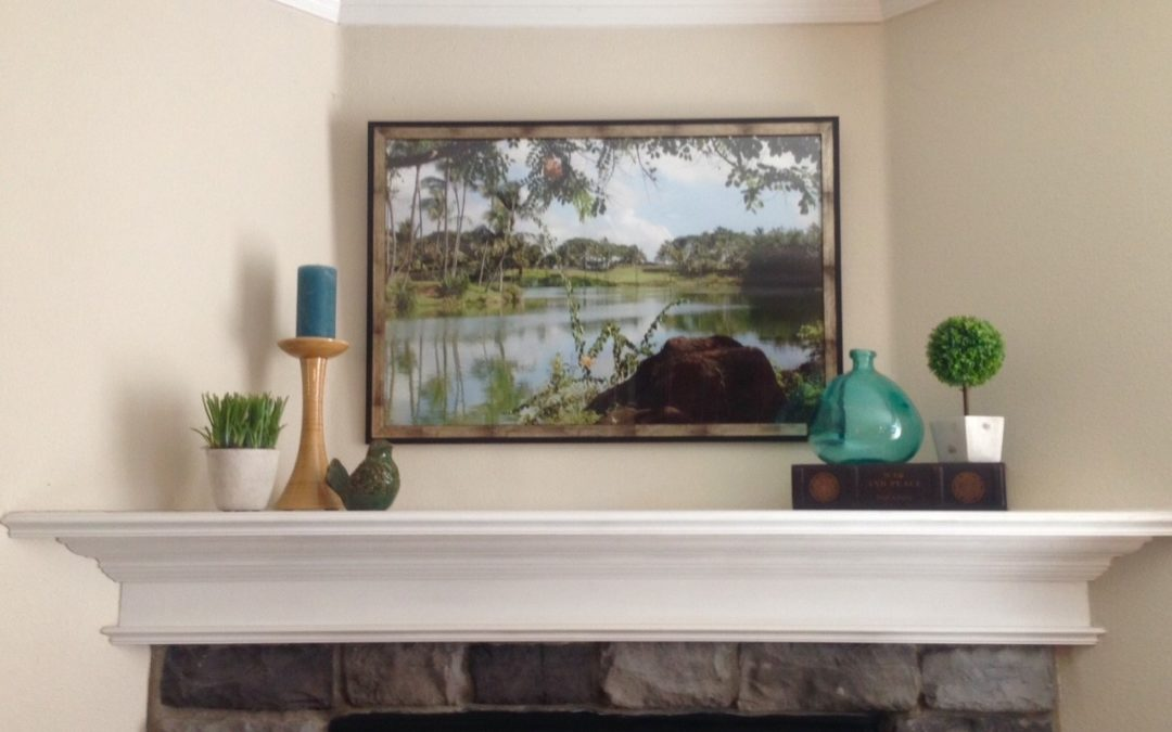 Decorating: Spacelift of Daughter's Family Room…