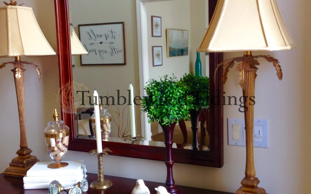 Decorating: Mirror, Mirror on the Wall…