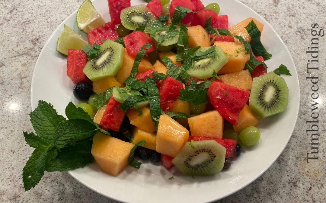 Mojito Fruit Salad…