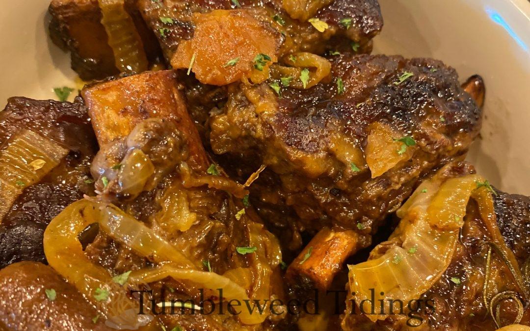 Braised Beef Short Ribs…