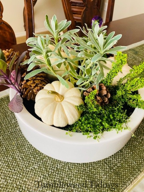 The Inspired Fall Arrangement…