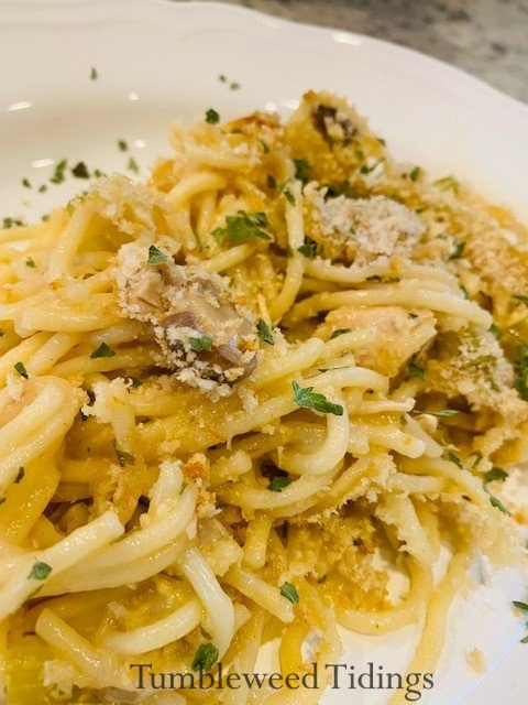 Turkey Tetrazzini…