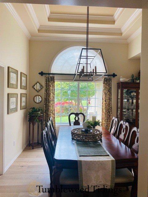New dining room flooring…