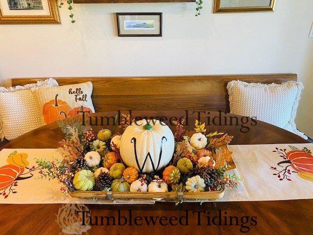 The Pumpkin Tray…